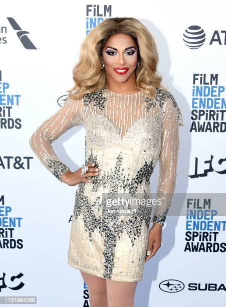 Shangela Laquifa Wadley attends the 2019 Film Independent Spirit Awards on February 23 2019 in Santa Monica California