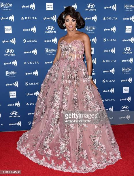 Shangela Laquifa Wadley attends the 30th Annual GLAAD Media Awards at The Beverly Hilton Hotel on March 28 2019 in Beverly Hills California