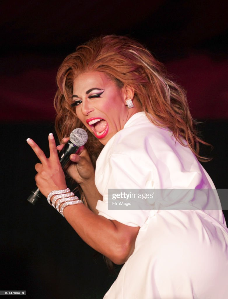 Shangela Laquifa Wadley performs on The Barbary Stage during the 2018 Outside Lands Music And Arts Festival at Golden Gate Park on August 10, 2018 in San Francisco, California.