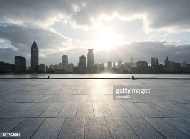 Shanghai bund financial district,China - East Asia,