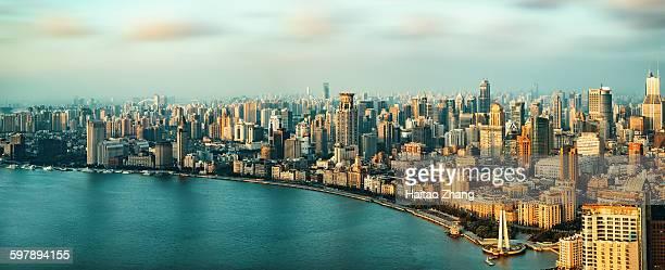 Shanghai bund morning