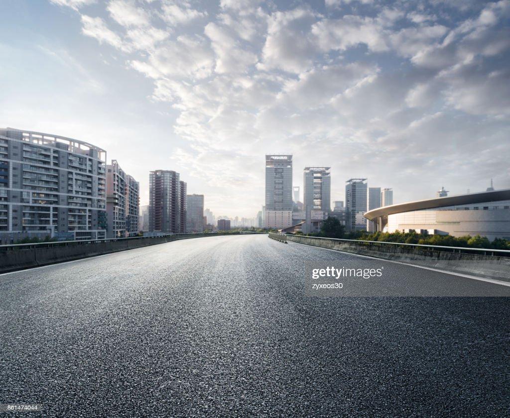 Shanghai century avenue cityscape, : Stock Photo