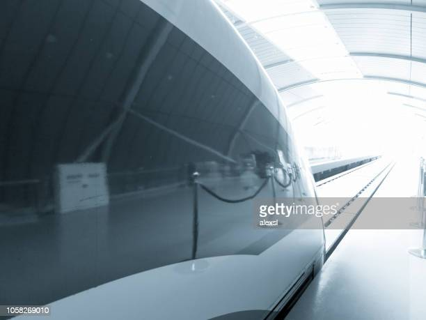 Shanghai China Maglev high speed train