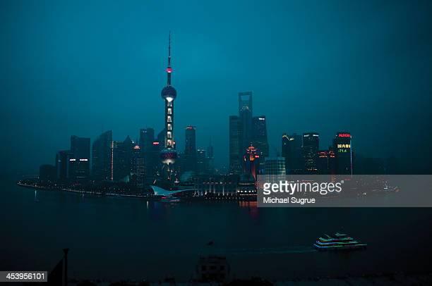 Shanghai, China, skyline.