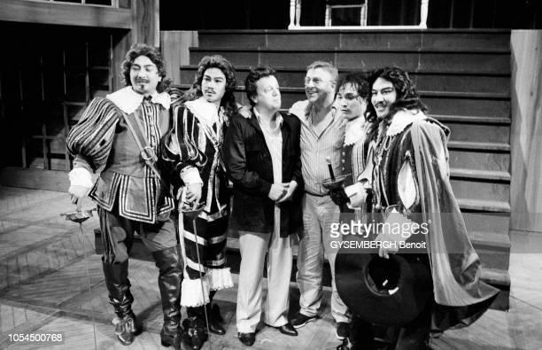 Shanghai Chine juillet 1985 'Les trois mousquetaires' d'Alexandre Dumas mis en scène par Marcel Maréchal dans une version traduite en chinois joué...