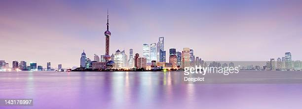 Shanghai City Skyline in China