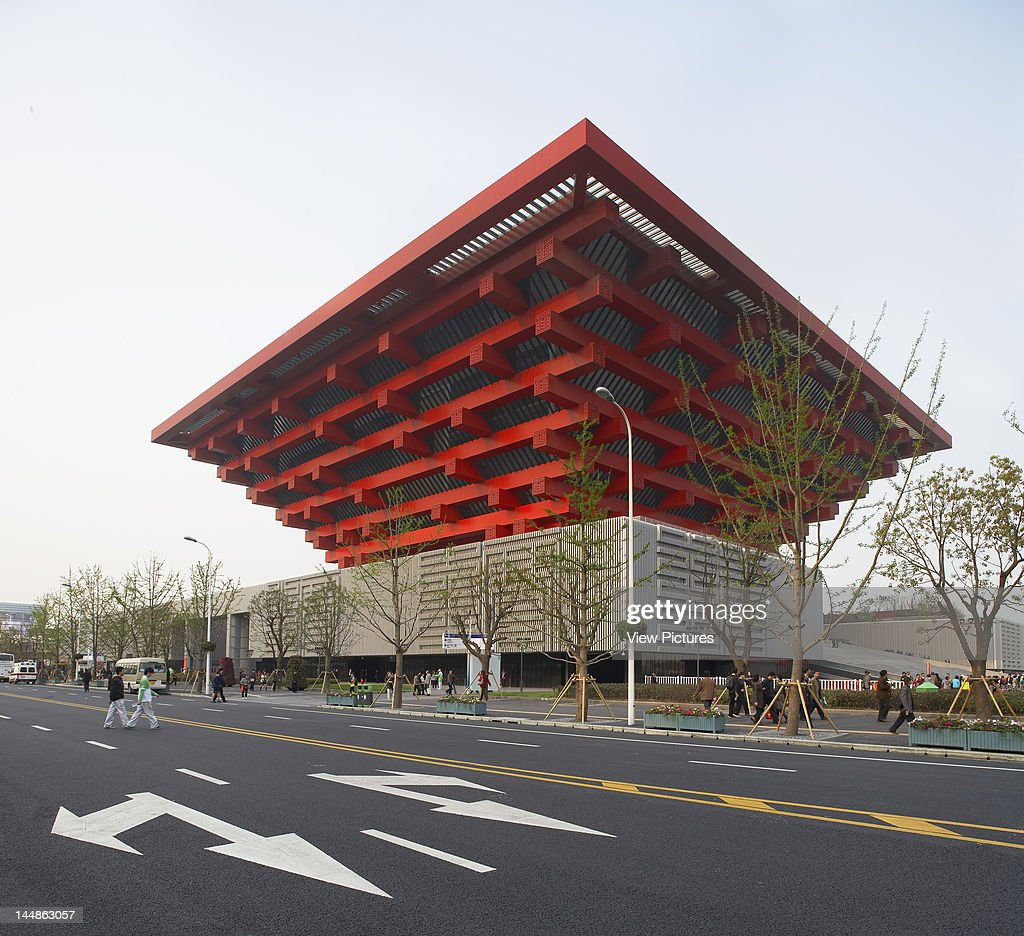 Shanghai Expo 2010 Chinese PavilionShanghaiChina Architect: He ...