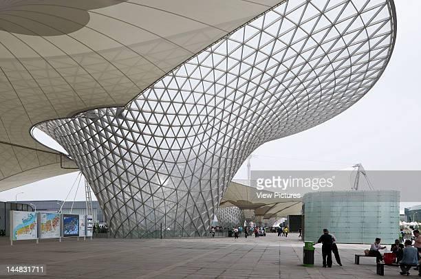 Shanghai Expo 2010 Expo AxisShanghaiChina Architect Sba International Stuttgart/Knippers Helbig Advanced Engineering Shanghai Expo 2010 Expo Axis Sba...