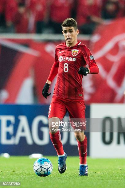 Shanghai FC Forward Oscar Emboaba Junior in action during the AFC Champions League 2017 Group F match between Shanghai SIPG FC vs Urawa Red Diamonds...