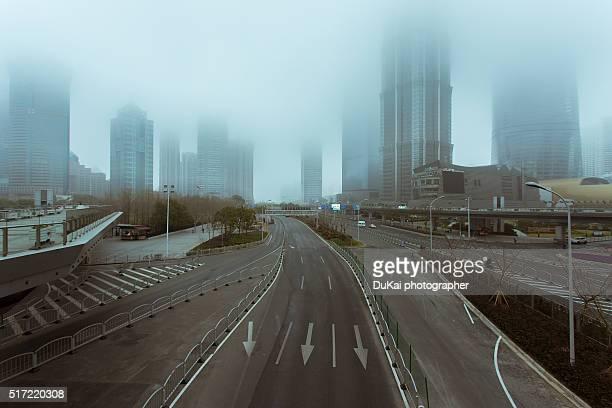 shanghai fog