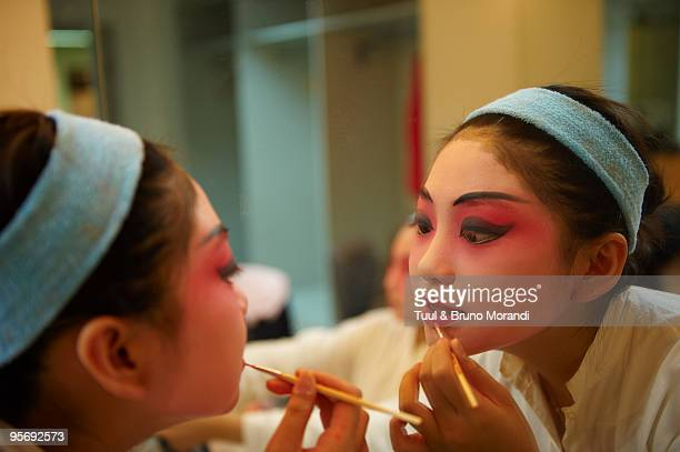 Shanghai Grand Theatre, Beijing Opera make up