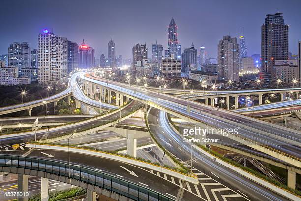 Shanghai Highway - huge motorway junction