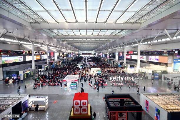 Shanghai Hongqiao high-speed train station
