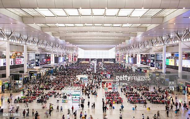 Shanghai Hongqiao Railway Station / China