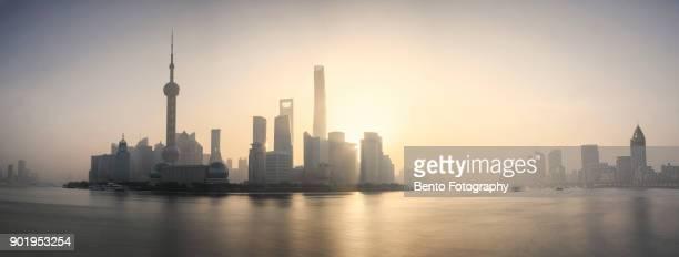 Shanghai in panorama