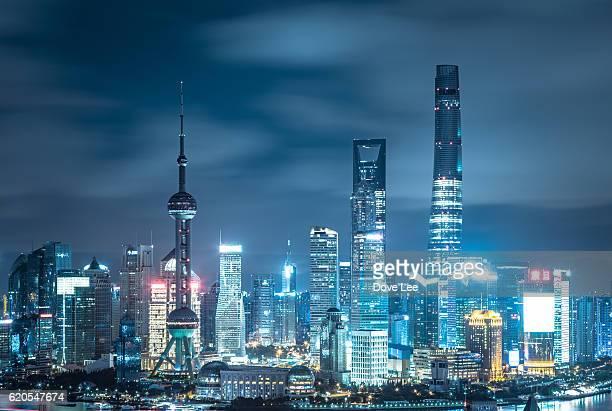 Shanghai Lujiazui cityscape