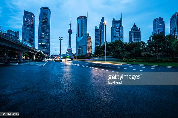 Shanghai Lujiazui night scene