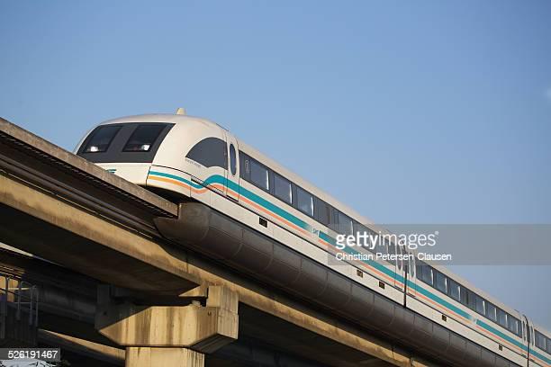 Shanghai Maglev en route