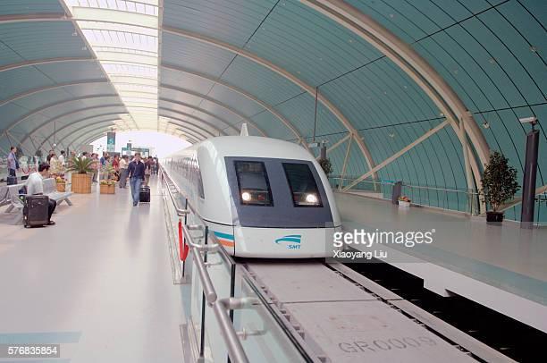 Shanghai Maglev Train Station