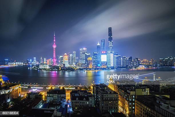 Shanghai Modern Skyline