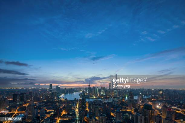 shanghai morning - 目的地 fotografías e imágenes de stock