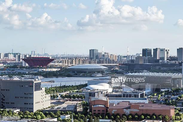 Shanghai Nanpu area