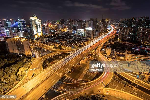 上海南浦大橋夜