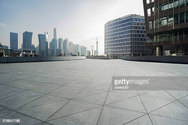 Shanghai north bund town Square,Modern business district,new tourist attraction.