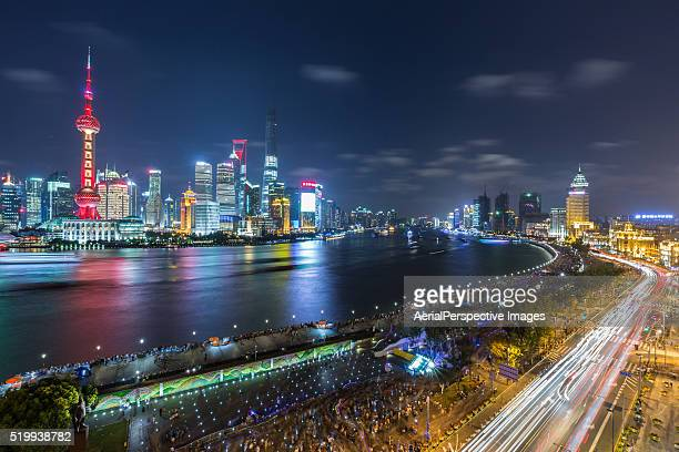 Shanghai Panorama at night
