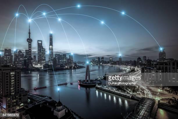 shanghai pudong City Network
