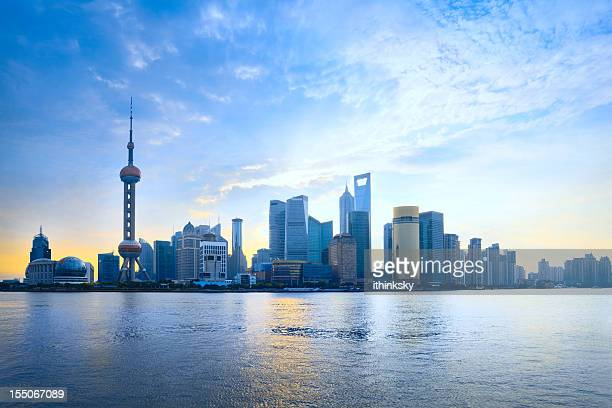 Shanghai pudong cityscape