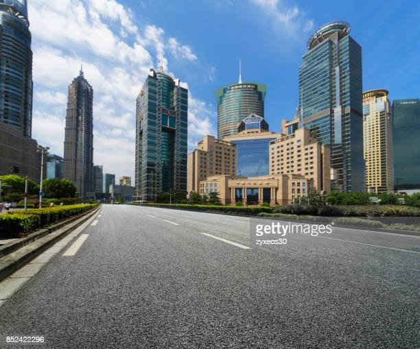 shanghai pudong lujiazui cityscape,china - east asia, - china east asia stock photos and pictures