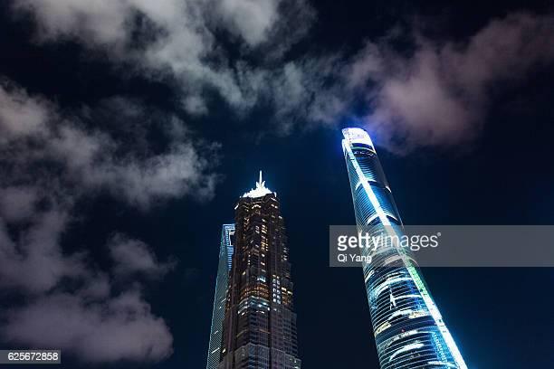 Shanghai Pudong modern architecture / China