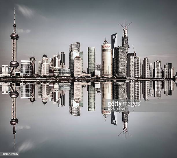 Shanghai Pudong - Square Symmetry