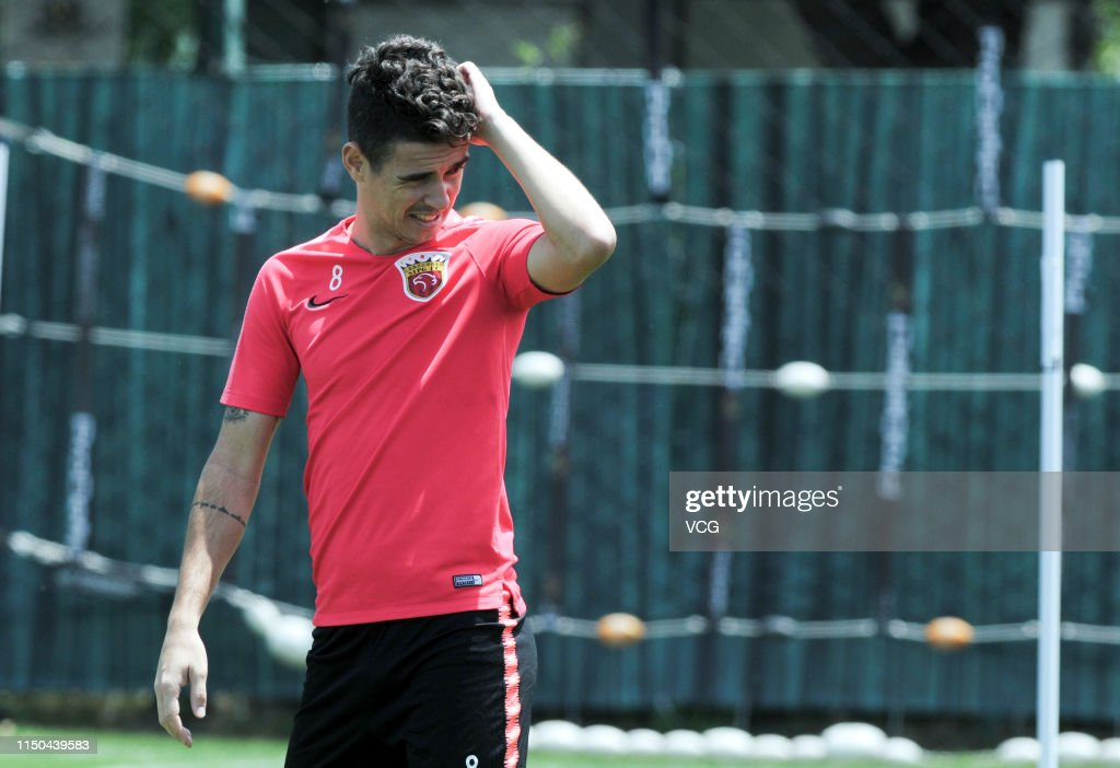 CHN: Shanghai SIPG Press Conference And Training Session