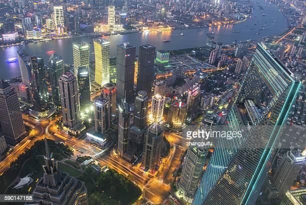 Shanghai skyline latest