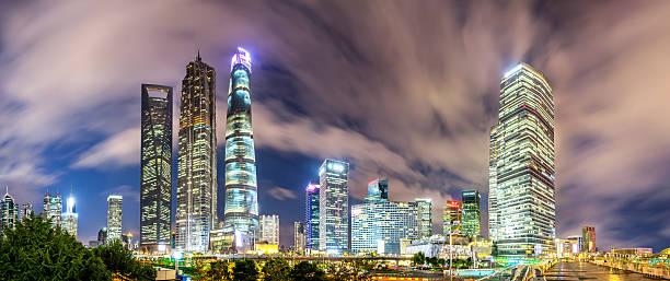 Shanghai Skyline Wall Art