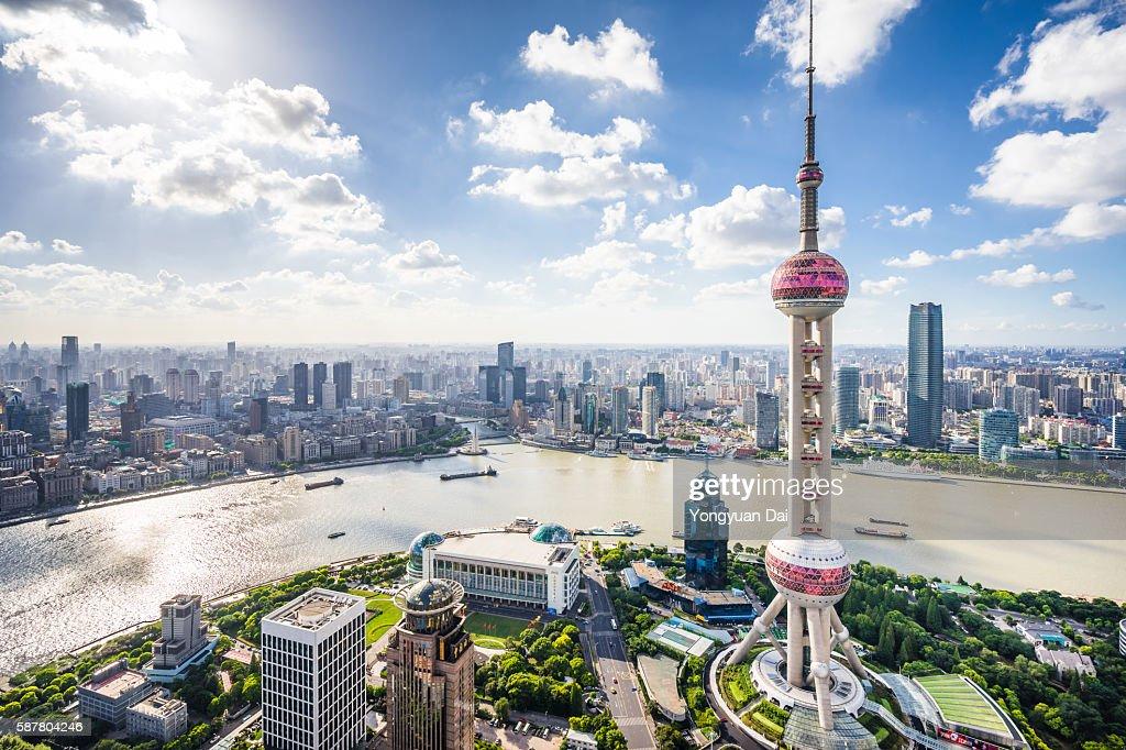 Shanghai Skyline : Stock Photo
