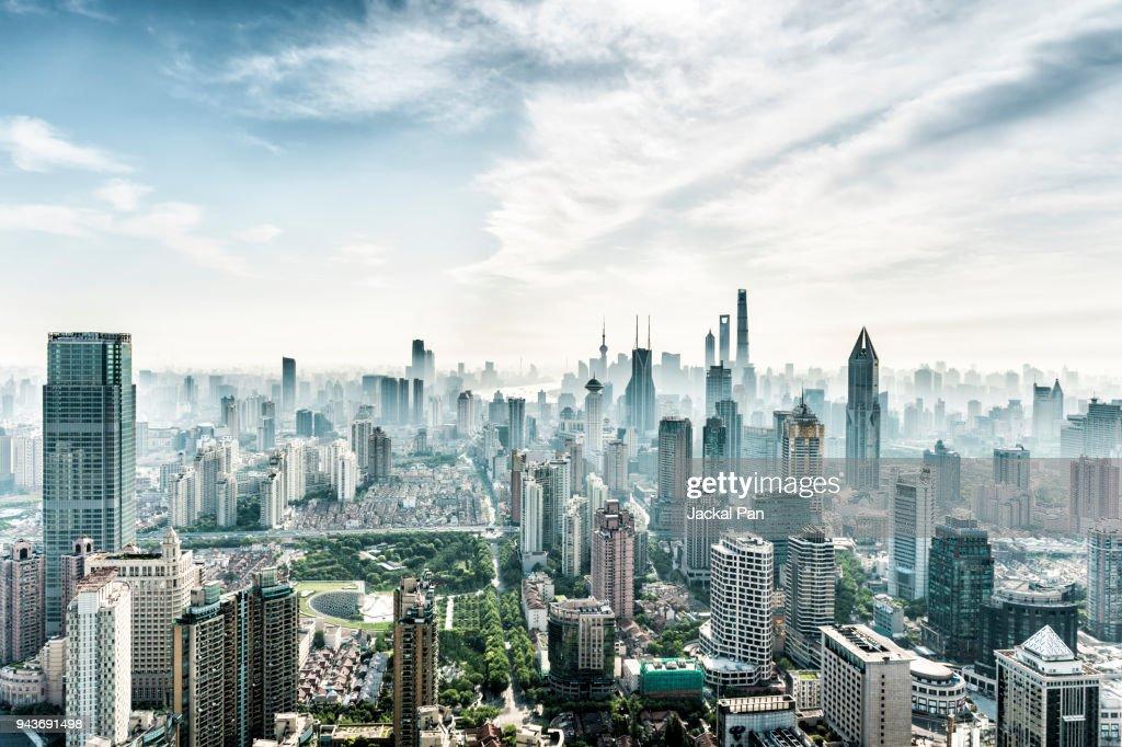 Shanghai Skyline : Stock-Foto