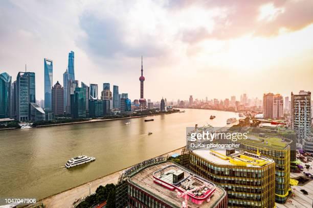 shanghai sunset