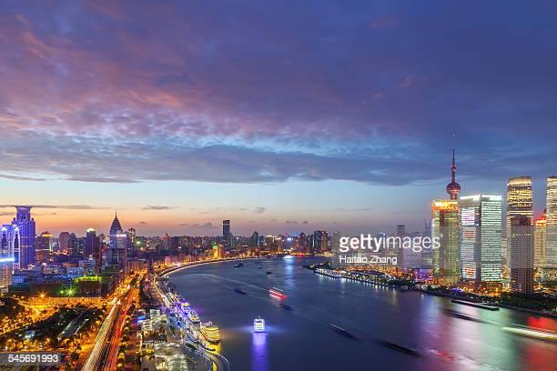 Shanghai the Bund night