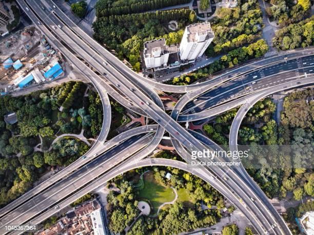 Shanghai viaduct overpass