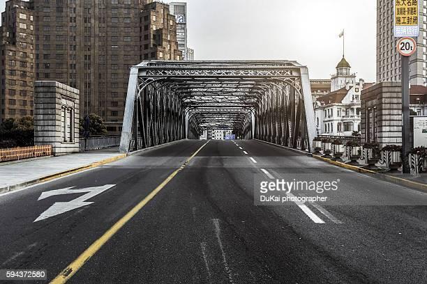 shanghai waihaidu bridge