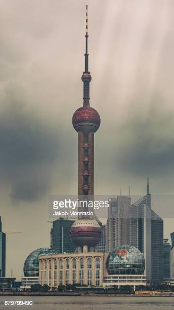 Shanghai's Oriental Pearl TV Tower