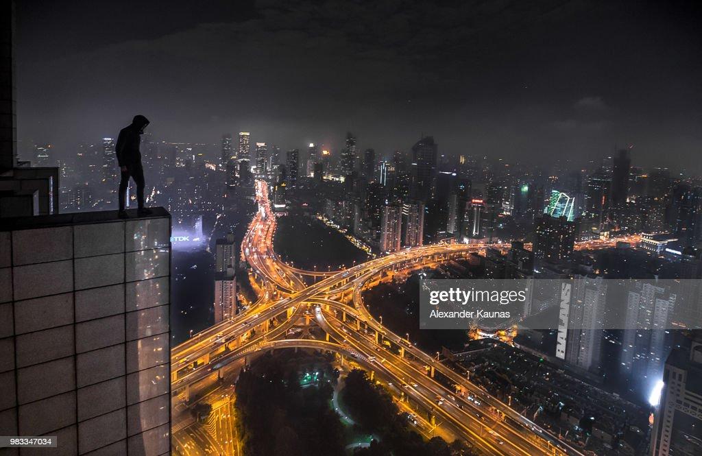 ShangHIGH Shadow : Stock Photo