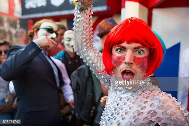 Shangri La is a festival of contemporary performing arts held each year within Glastonbury Festival. The theme for the 2015 Shangri La was Protest....