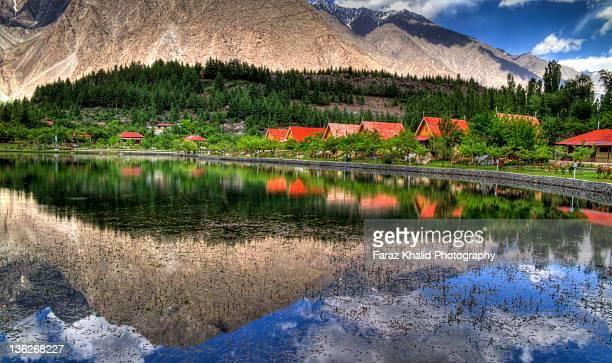 shangrila, pakistan - gilgit stock pictures, royalty-free photos & images