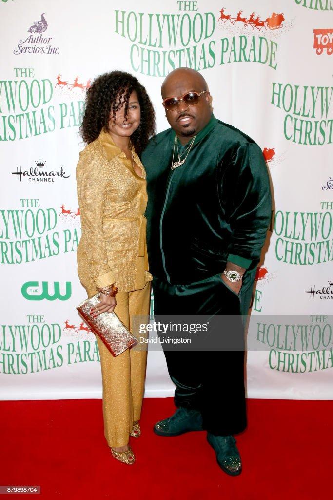 The Christmas Parade Hallmark.Shani James And Ceelo Green At 86th Annual Hollywood