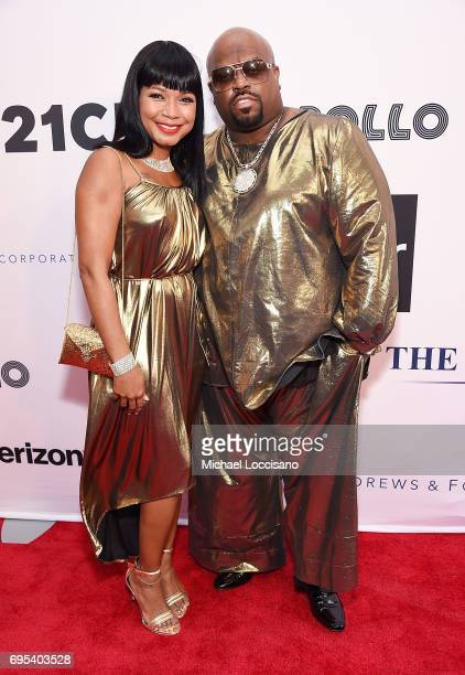Shani James and singer CeeLo Green attends the Apollo Spring Gala 2017 at The Apollo Theater on June 12 2017 in New York City