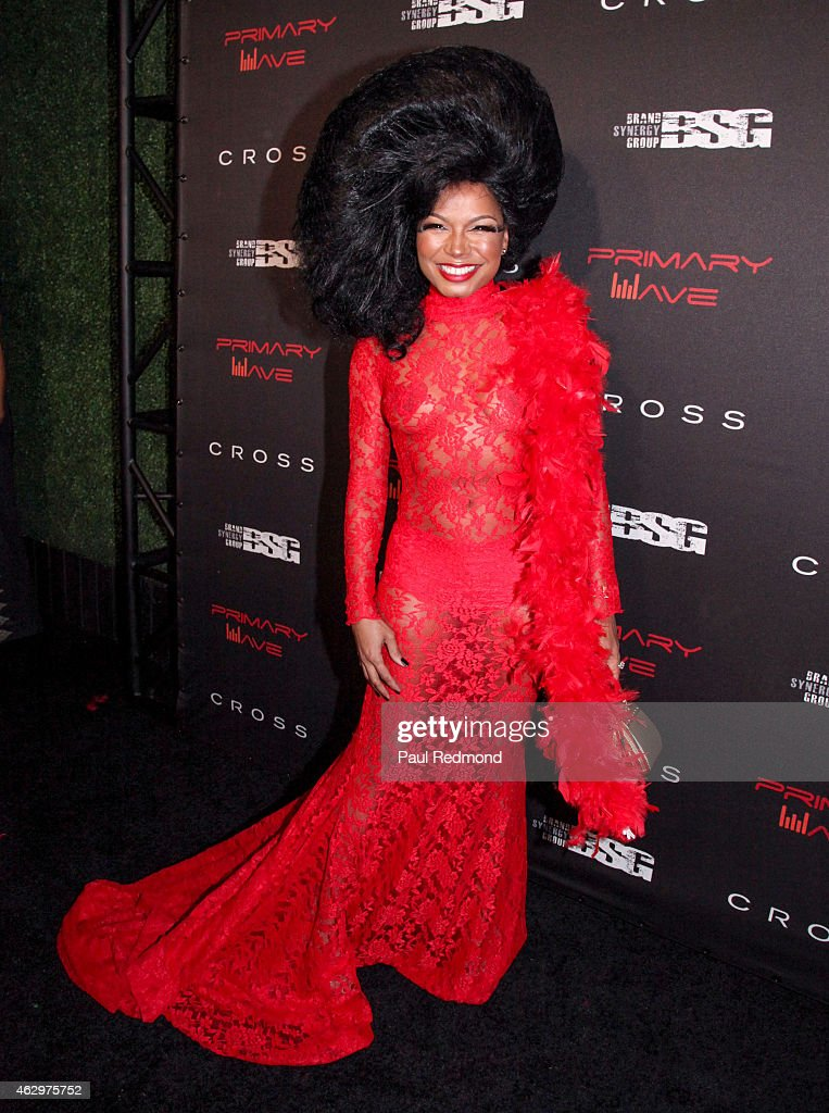 Shani James attends Primary Wave 9th Annual Pre-Grammy Prty at RivaBella on February 7, 2015 in West Hollywood, California.